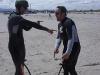 Tom und Ray Kiteschule in Dublin Sutton und Kite-lessons, Kiteschule Kiel