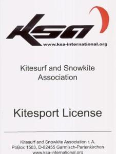 KSA Lizenz